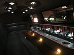 14 Passenger Stretch Excursion SUV Limo Interior