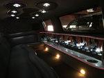 14 Passenger Stretch Excursion SUV Limo Interior