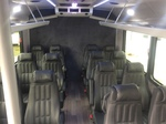 14 Passenger Shuttle Bus Interior