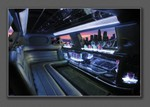 10 Passenger Stretch Limo Interior
