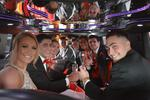 Hummer H2 prom stretch limousine
